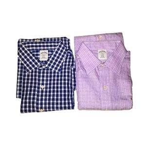 Bundle Of 2 Brooks Brothers Button Down Shirts